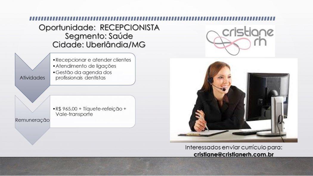 Cristiane RH - Recepcionista