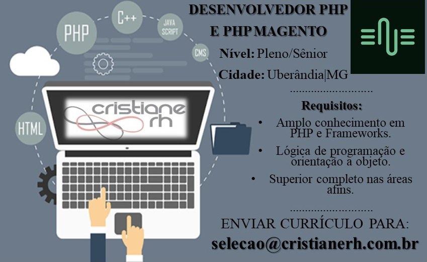 00f00cb5b2 Desenvolvedor PHP (Magento) - ENE Soluções - Cristiane RH - Soluções ...